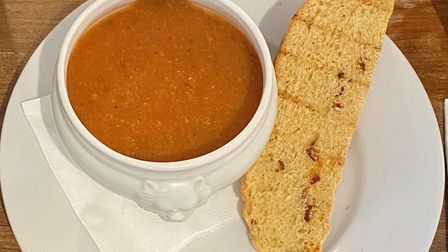 Soup at The Ramsholt Arms