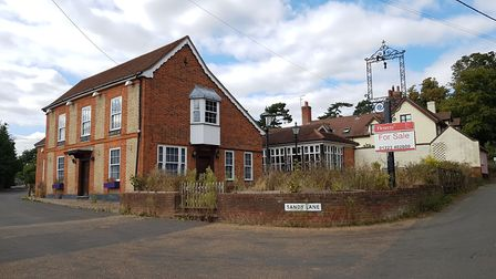 The Admiral's Head pub in Little Bealings - the former landlord hopes to convert it into a home PIC