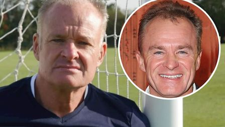 New Bristol Rovers goalkeeping coach David Coles. Or is it Bobby Davro? Picture: BRFC/PA