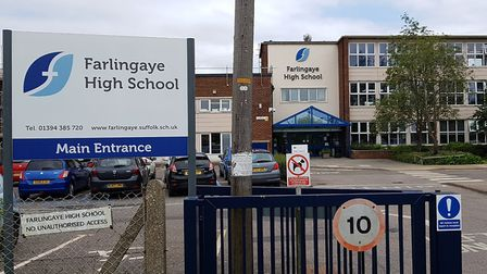 Students at Farlingaye High School have been asked to self-isolate after a pupil tested positive for