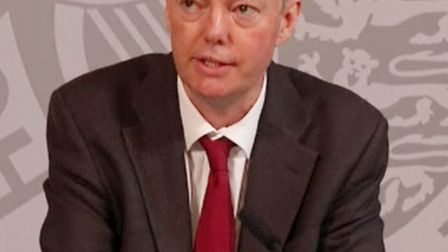 The government's chief medical officer Chris Whitty said though cases were initially rising among yo