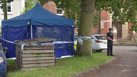 The discovery of human bones in Sudbury and a shooting in Kesgrave have sent shock waves through the
