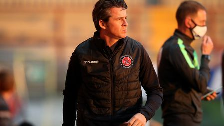 Fleetwood Town manager Joey Barton was not happy with the referee following his side's dramatic late