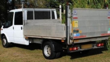 The vehicle was stolen from Halesworth Road, Ilketshall St Lawrence Picture: SUPPLIED BY SUFFOLK CON
