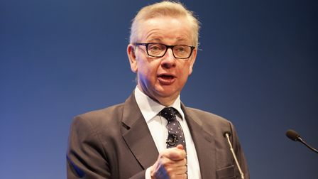 Cabinet minister Michael Gove speaking to the Oxford Farming Conference Picture: OXFORD FARMING CON