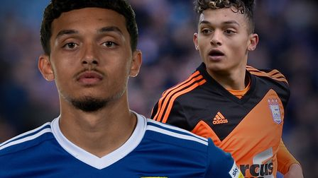 Andre Dozzell is looking to make his mark, more than four years on from his Ipswich Town debut. Pict