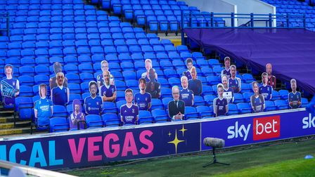 The only fans at Portman Road stadium this season have been cardboard cut-outs - and that looks to b