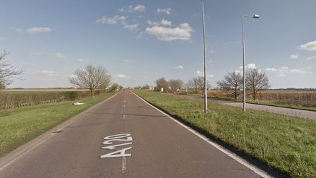 There has been a serious collision on the A120 this morning Picture: GOOGLE MAPS