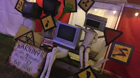 Scaresville is well-known for its array of spooky attractions and events Picture: RACHEL EDGE