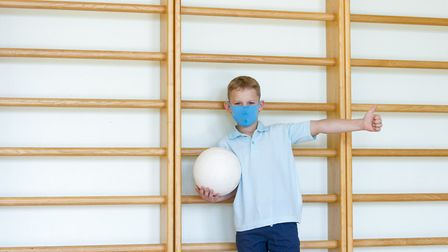 Some schools have introduced face masks in corridoors and communal areas to help reduce the risk of