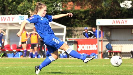 Ipswich Town Women returned to the Goldstar Ground on Sunday Picture: ROSS HALLS