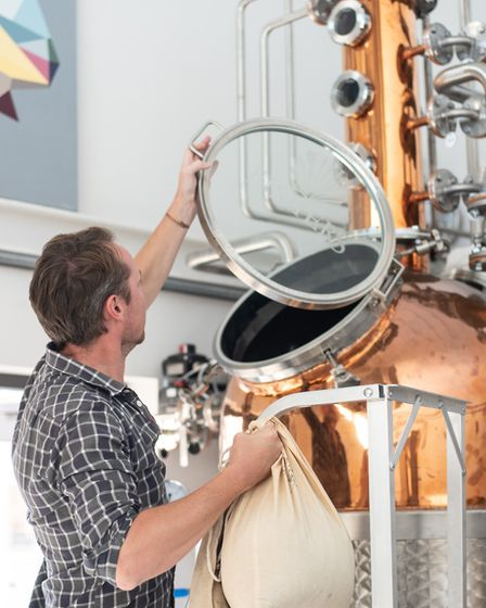 Distiller for Fishers Gin, Ben Bewley-Pope Picture: SARAH LUCY BROWN