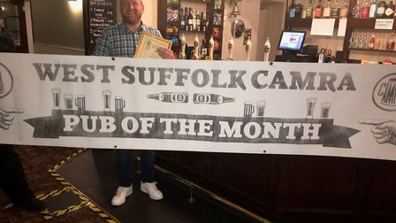 The Fox and Hounds in Thurston is West Suffolk CAMRA Pub of the Month and has also scooped a Tripadv