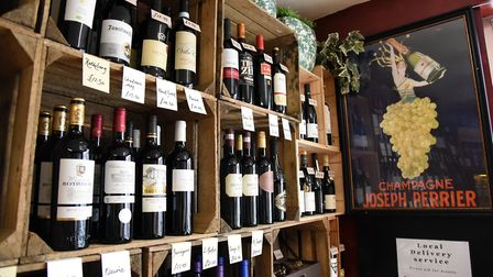 A new wine shop has arrvied in the heart of Lavenham highstreet, L&B Wines Picture: CHARLOTTE BOND