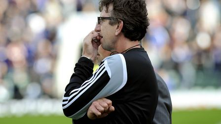 Former Ipswich Towm striker Paul Mariner, the Plymouth boss for a bottom-two clash against his old c