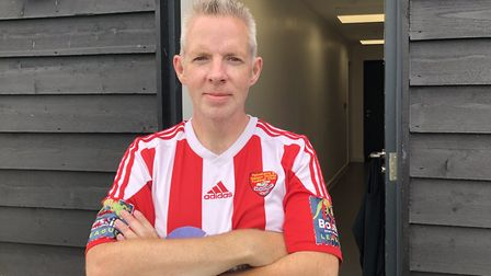 Chris Daynes, Felixstowe & Waltons Chief Operations Officer. The kind of figure no non-league club
