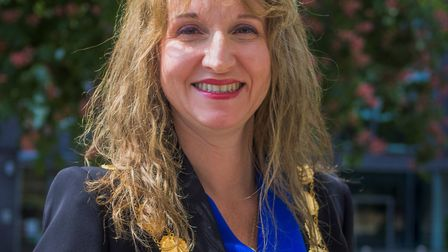 Mid Suffolk District Council's chairman for 2019/20, Lavinia Hadingham, who will take up the cabinet