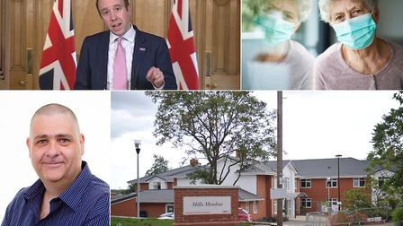 How prepared are Suffolk's care homes for a second wave of coronavirus? Top left: Health secretary M