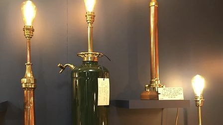 Snape Antiques Centre sells a variety of goods, including lighting Picture: Snape Antiques Centre
