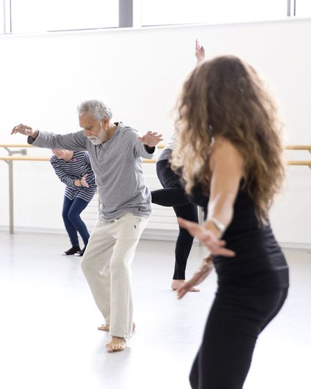 DanceEast has teamed up with Inside Out to provide online Moving Minds classes which focus on improv