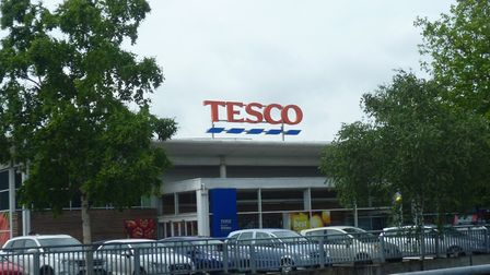 Tesco has also introduced a limit on some key items in its stores. Picture: MARK LANGFORD