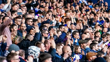 Ipswich Town supporters are among the best behaved in the country, according to new figures Pictur