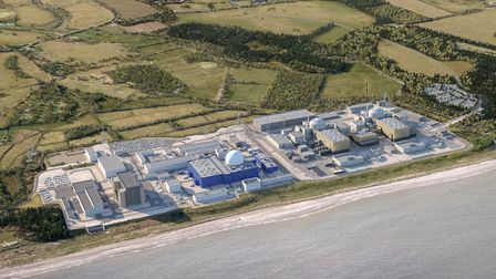 How Sizewell C would look if it were built. Picture: EDF ENERGY