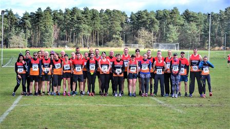 Prior to this year's National Police Cross Country Championships at Thetford where the ladies took f