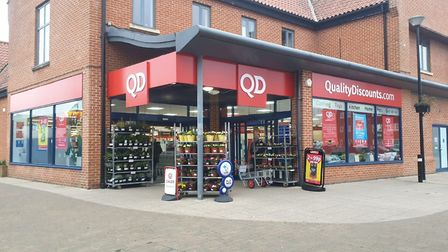 QD store's new look, which has been completed in time for the store's 15th birthday. Picture: QD Gro