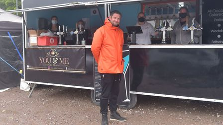 Adam Coulton, who organised the pop-up street food festival in Norwich, and is planning another simi