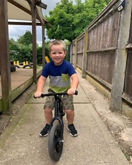 Scribbles Pre-School Group, based in Bawsdeswell and North Elmham, has launched a cycle scheme to of
