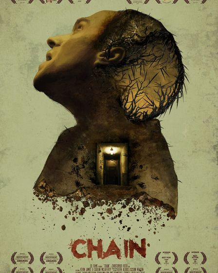 Kevin James, 43 from Dereham stars in horror-short Chain on Amazon Prime. Picture: EQ Films