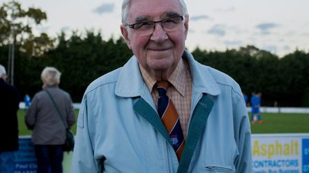 Tributes have been paid to Diss Town Football Club president Len Nice. Picture: Diss Football Club