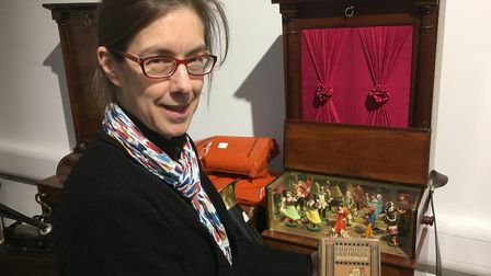 Director of Diss Auction Rooms Elizabeth Talbot. Picture: Simon Parkin
