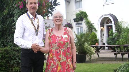 Soon-to-be standing down president of the Rotary of Rotary Club of Diss and District, Phil Catchpole