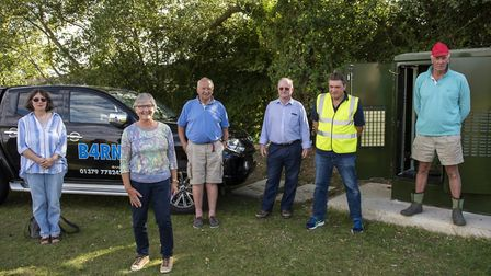 The south Norfolk villages of Shimpling, Burston, Gissing and The Heywood are set to gain access to