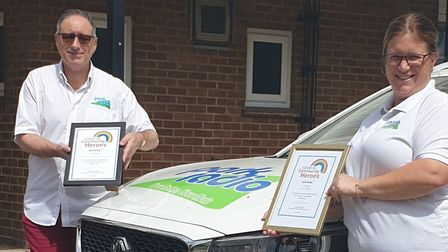 Park Radio, based in Diss, has been recognised by South Norfolk Council as a COVID-19 Community Hero