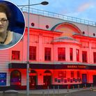 The Marina Theatre in Lowestoft. Inset: Emma Butler-Smith. Picture: Mick Howes/Marina Theatre