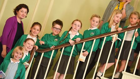 Young Green Fingers Celebration at the Athenaeum in Bury St Edmunds.