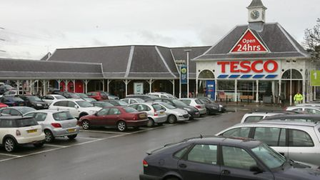Judicial review: Tesco hoped to increase the size of its store in Highbridge Road to 4,088 sq m