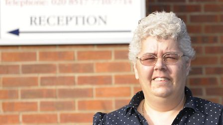 Caring: Sandra Emmery has worked at the home in Dagenham since 2006
