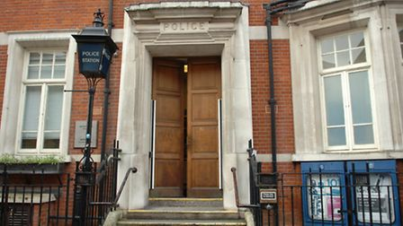 Closure plans: Barking Police Station in Ripple Road is among three Met buildings facing the axe in