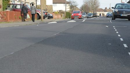 Dawson Avenue after resurfacing under the council's Highways Investment Programme