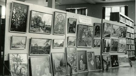 The Dagenham Library service was the first to introduce the loan of framed art