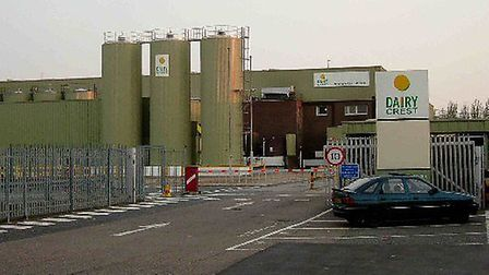 The Dairy Crest dairy in Selinas Lane, Dagenham produces 400 million litres of milk a year.