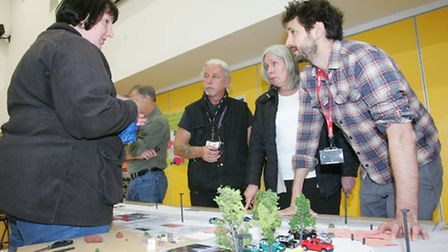 Planners and local residents discuss street project developments