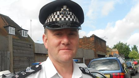 PC Ian Lee who is in charge of the dangerous dogs section of BD Police