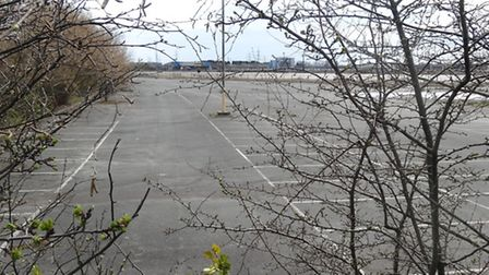 The Beam Park site where the prison could be built