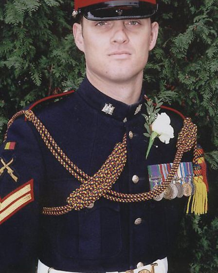 Fallen soldier Corporal Alex Guy will have a street named after him