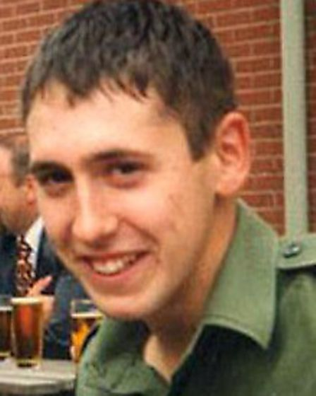 Sapper Luke Allsop, a bomb disposal expert with 33 Engineer Regiment who died in Iraq in March 2003
